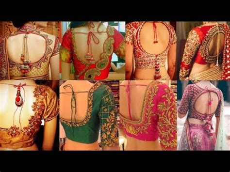 latest blouse design  beautiful blouse  neck