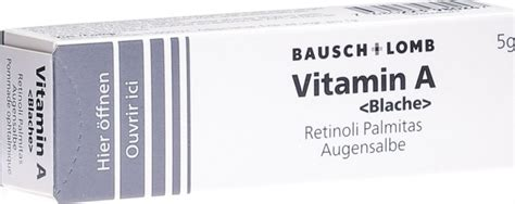 vitamin  blache augensalbe   der adler apotheke
