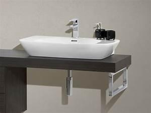 Waschtischplatte Fuer Aufsatzwaschbecken : design waschplatz mit waschtischplatte 180cm und unterschrank paul gottfried ~ Orissabook.com Haus und Dekorationen