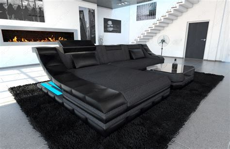 l shaped settee sectional fabric sofa new york l shape with led