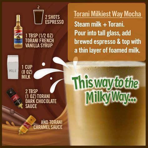 milky way mocha coffee iced coffee drinks espresso