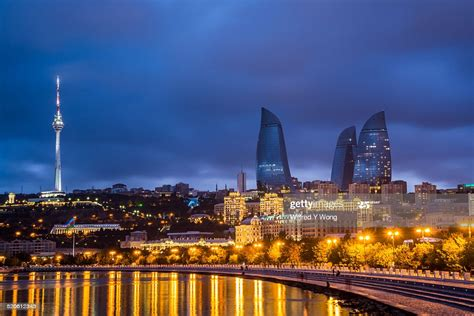 Explore baku holidays and discover the best time and places to visit. Baku Skyline High-Res Stock Photo - Getty Images