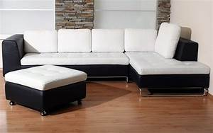 Elegant corner white leather sofa design ideas for for Corner sofa design ideas for your modern living room