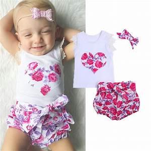 Super Cute Baby Girl Clothes Summer 2017 Newborn Baby Girl ...
