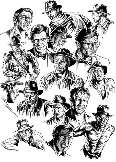 Indiana Jones Free Coloring Pages