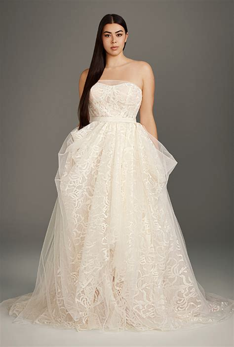 White By Vera Wang Wedding Dress Collection Davids Bridal