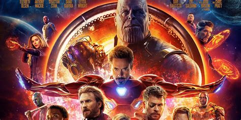 Avengers Infinity War Poster Pits The Mcu Vs Thanos