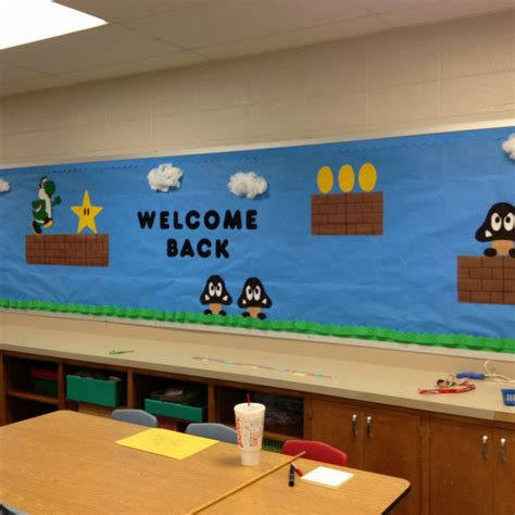 17 Best Images About Super Mario Nintendo Classroom On