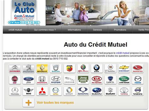 credit mutuel pret auto club auto cr 233 dit mutuel achat 233 voitures neuves