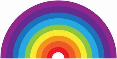 Circle Rainbow Half Transparent