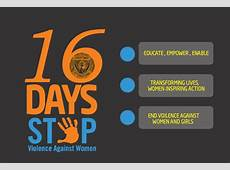 16 Days of Activism Campaign