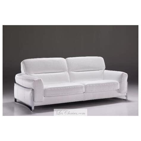 canap en blanc canapé cuir blanc nantes et canapés en cuir italien satis