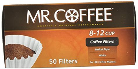 Cheap coffee filters, buy quality home & garden directly from china suppliers:50pcs basket coffee filters for 1 4cups no bleach environmental filter paper natural brown for drip coffee basket coffee filter enjoy free shipping worldwide! Mr. Coffee Basket Coffee Filters, 8-12 Cup, White Paper, 8-inch, 50-Count Boxes | eBay