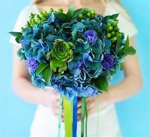 Grün Und Blau : brautstrau hortensie blau gr n gro e bildergalerie ~ Markanthonyermac.com Haus und Dekorationen