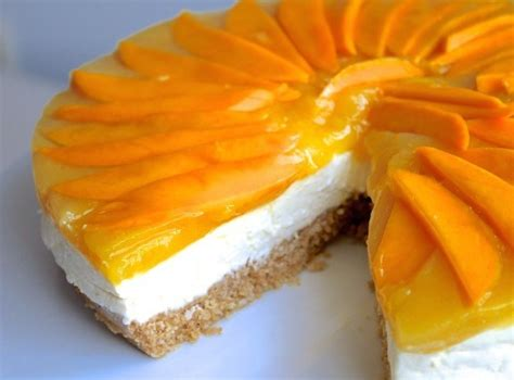 bake mango cheese cake recipe kusina master recipes