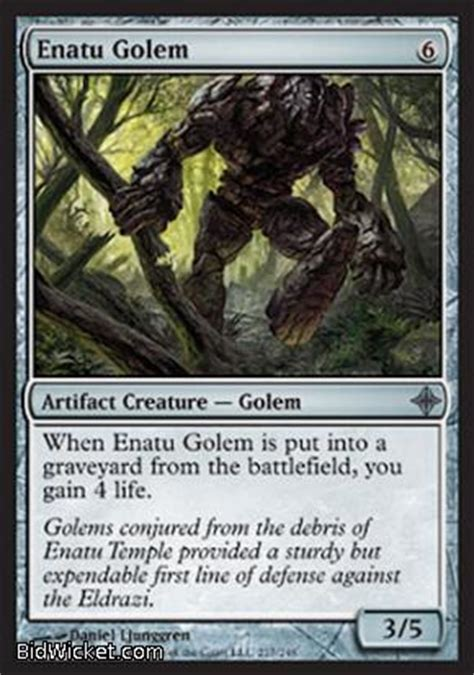Magic The Gathering Golem Deck by Enatu Golem