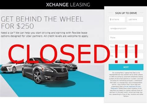 uber  discontinue  car leasing program due  huge