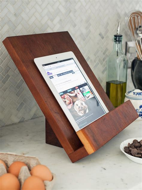 modern tablet  cookbook stand hgtv