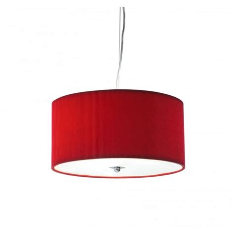 bright red l shade zaragoza circular red ceiling light shade for high ceilings