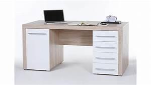 Schreibtisch Weiß Eiche : schreibtisch cube computertisch wei und sonoma eiche 160x70 cm ~ A.2002-acura-tl-radio.info Haus und Dekorationen