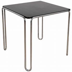 Bauhaus Table model B10 by Marcel Breuer circa 1935 at 1stdibs