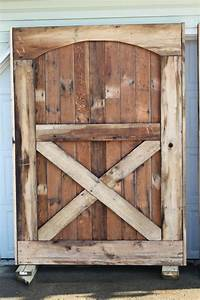 Barn doors are up we have closure old world garden farms for Darn door