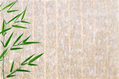 fond de papier de riz avec les lames en bambou images stock image 18590694