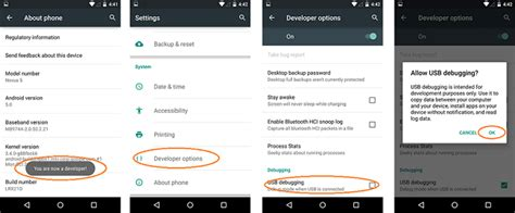 how to enable usb debugging on android from computer how to enable usb debugging on android phone