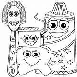 Coloring Dental Printable Pages Health Smile Dentist Getcolorings Sheets Preschool Kindergarten sketch template