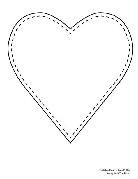 Andere namen hierfür sind wiederbelebung, reanimation und englisch cardiopulmonary resuscitation. Print Out These 6 Sweet and Free Heart Templates   Heart ...