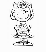 Peanuts Coloring Pages Printable Getcolorings sketch template