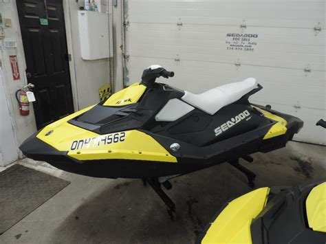 New 2015 Sea Doo Spark 2up For Sale In Lasalle
