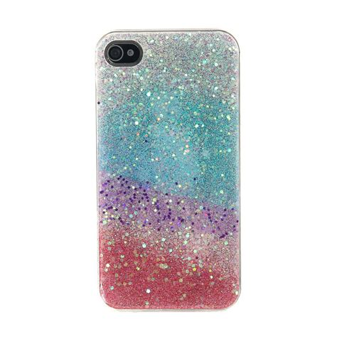 phone cases glitter rainbow phone s