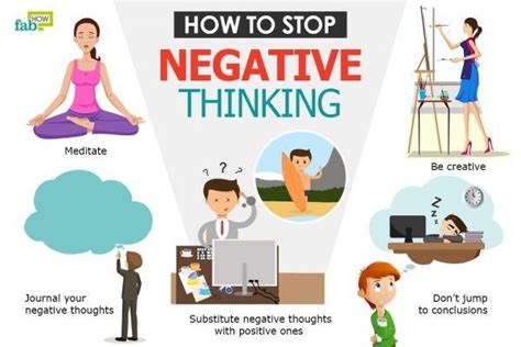 How To Stop Negative Thinking  Fab How