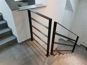 Garde De Corps Escalier : garde corps sur escalier b ton m tallerie bas rhin ~ Melissatoandfro.com Idées de Décoration