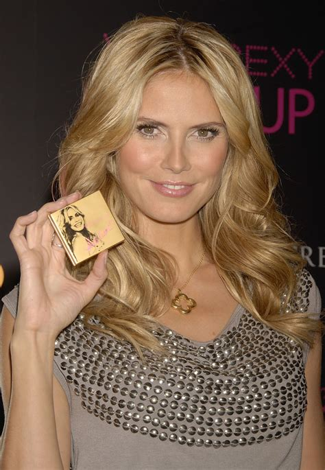Heidi Klum Launches Her Make Collection