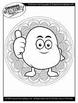 Coloring Potato Potatoes Quiz sketch template