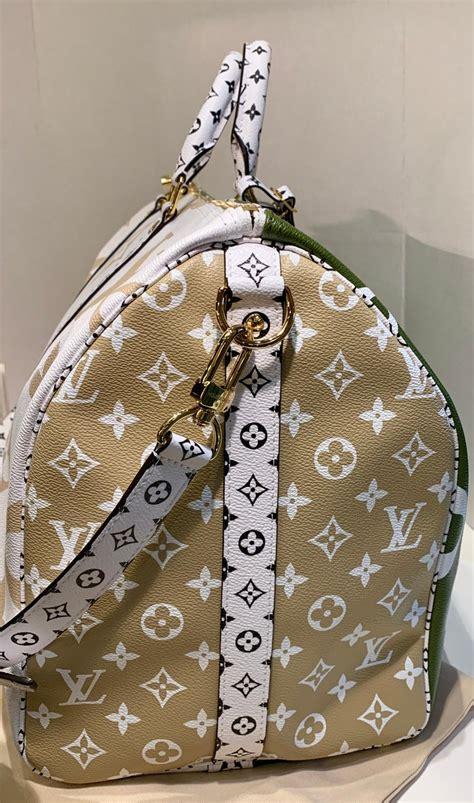 louis vuitton keepall bandouliere  giant travel bag summer  duffle bag  stdibs
