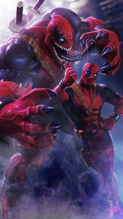 Deadpool Venom Picture For Mobile Phone Wallpaper Hd