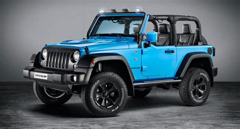 chief blue jeep jeep shows off wrangler rubicon with mopar one package