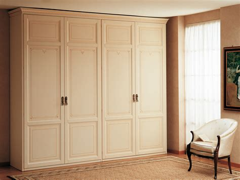 Home Wardrobe by Classic Wardrobe With Two Two Doors Elements Vimercati