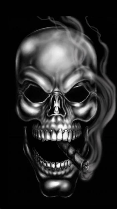 Skull Wallpapers Smoke Skeleton Smoking