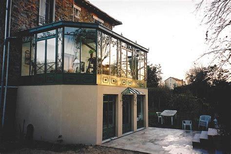 cuisine atelier artiste conception et création véranda à 2 étages à l 39 ancienne en