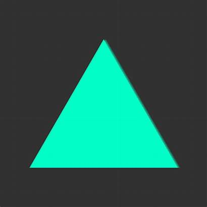 Triangle Loop Animated Motion Infinite Fast Gifer