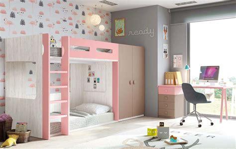 chambre avec lit superposé lit superposé avec bureau chambre personnalisable