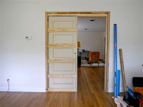 how to fix a pocket door how to build a pocket door c r a f t