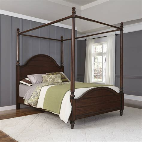 sears canopy bed home styles bedford canopy bed black walmart