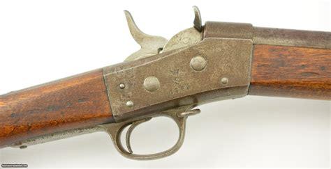 Swedish 186067 Rolling Block Rifle W Gotland Militia Mark