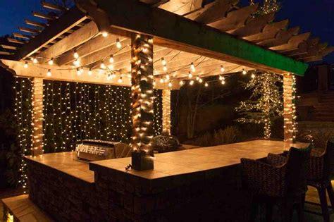 beautiful patio lighting ideas  inspire