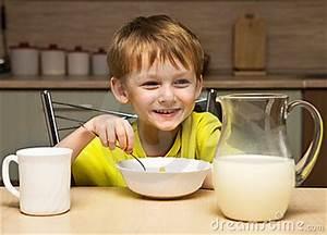Boy Eating Breakfast Stock Images - Image: 6782364